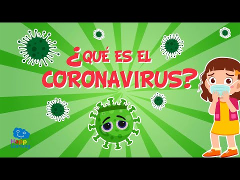 ¿QUÉ ES EL CORONAVIRUS? 🦠 Explicación para niños   Vídeos Educativos para Niños