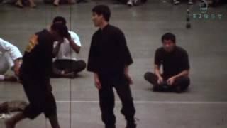 Брюс Ли и Виктор Мур - скорость удара (Документальные кадры)