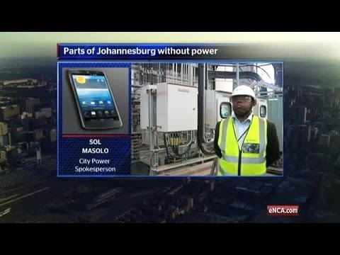 Cable faults leave Joburg in the dark