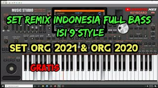 SET REMIX INDONESIA FULL BASS-STYLE ORG 2021 & 2020