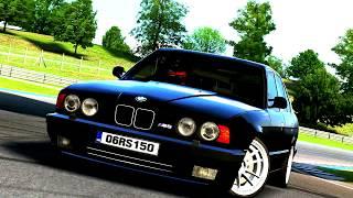 LFS- BMW M5 E34 Black