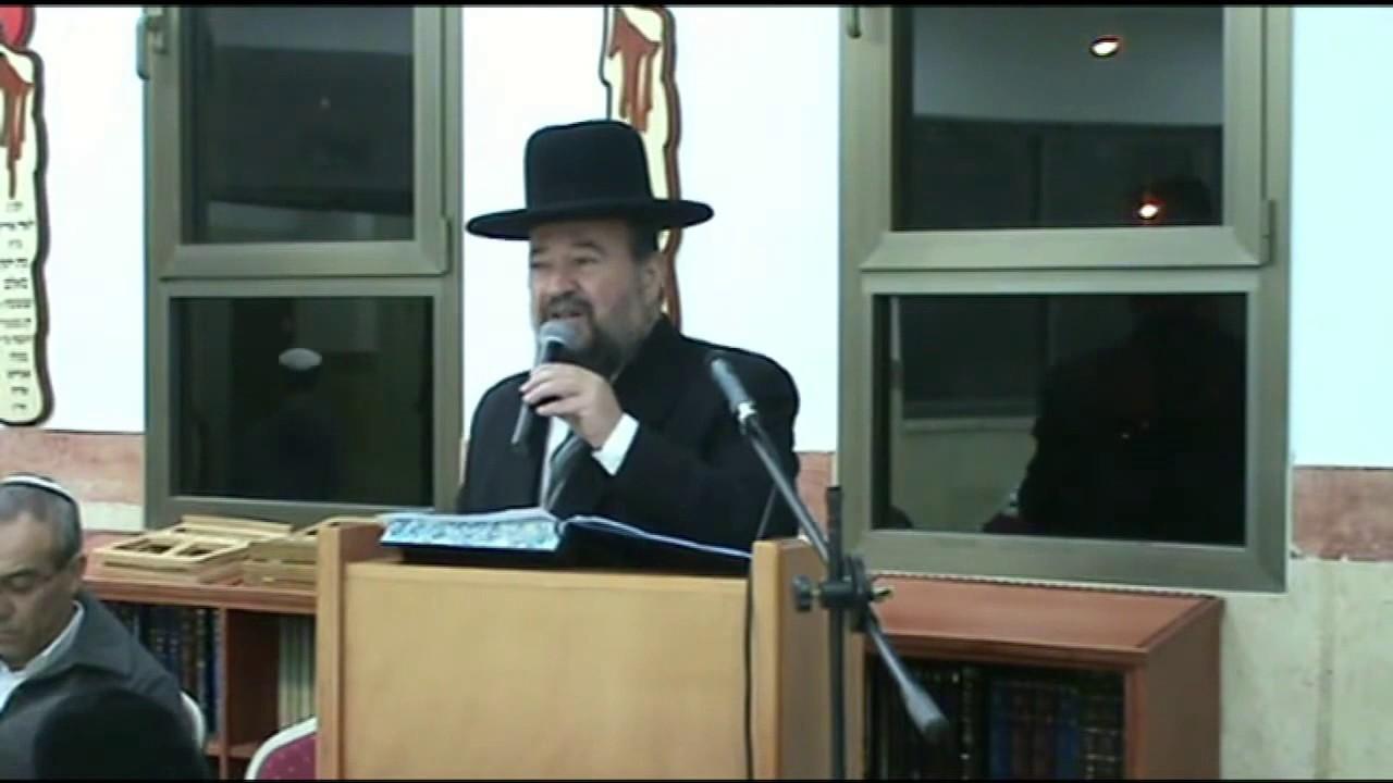 הרהג דוד הכהן   סיום מסכת ברכות   rabbi david hacohen