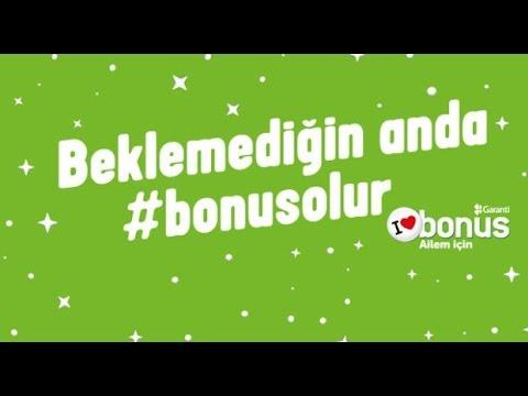 BonusCard - Beklemediğin anda #bonusolur!