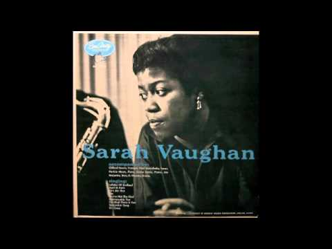 Sarah Vaughan with Clifford Brown.