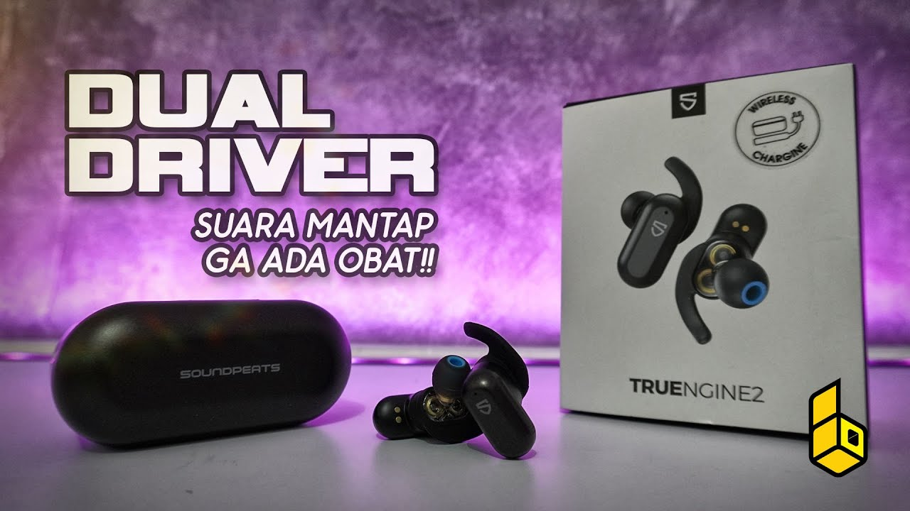 Review Soundpeats TRUENGINE 2. TWS Dual Driver Terbaik?