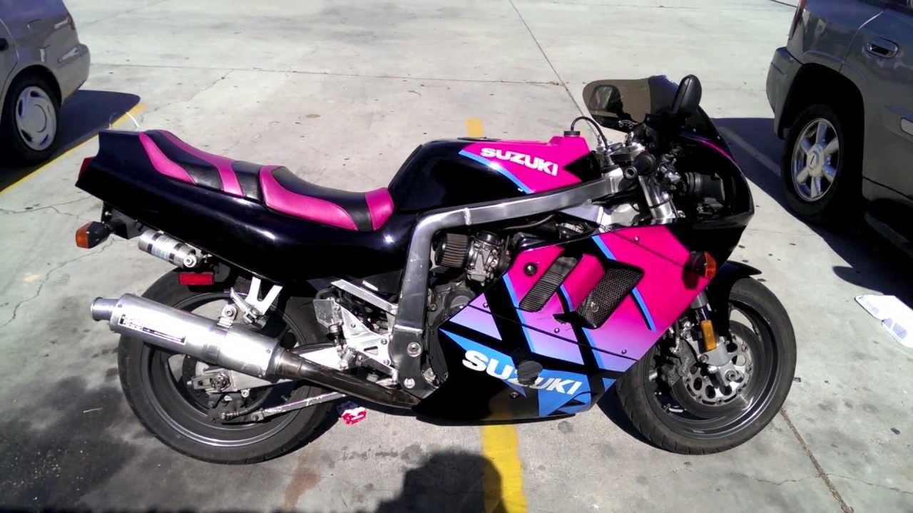 1992 suzuki gsx r 750cc motorcycle youtube. Black Bedroom Furniture Sets. Home Design Ideas