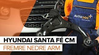 Hvordan bytte fremre nedre arm på HYUNDAI SANTA FÉ CM [BRUKSANVISNING]