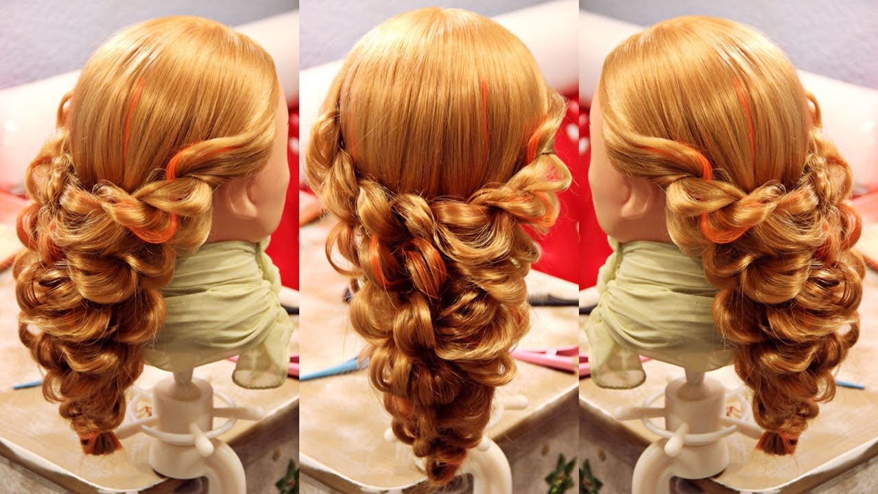 Hairstyle double ropes | Hairstyles by REM | Copyright ©