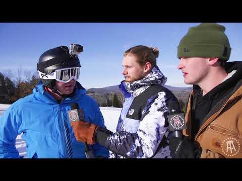 It's a battle of the ski snobs, Francis vs Feitelberg vs Riggs in the downhill ski slalom