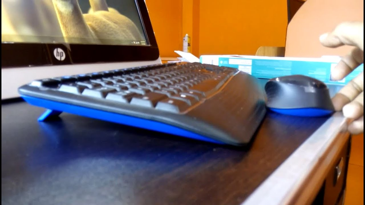 how to make my logitech wireless mouse work