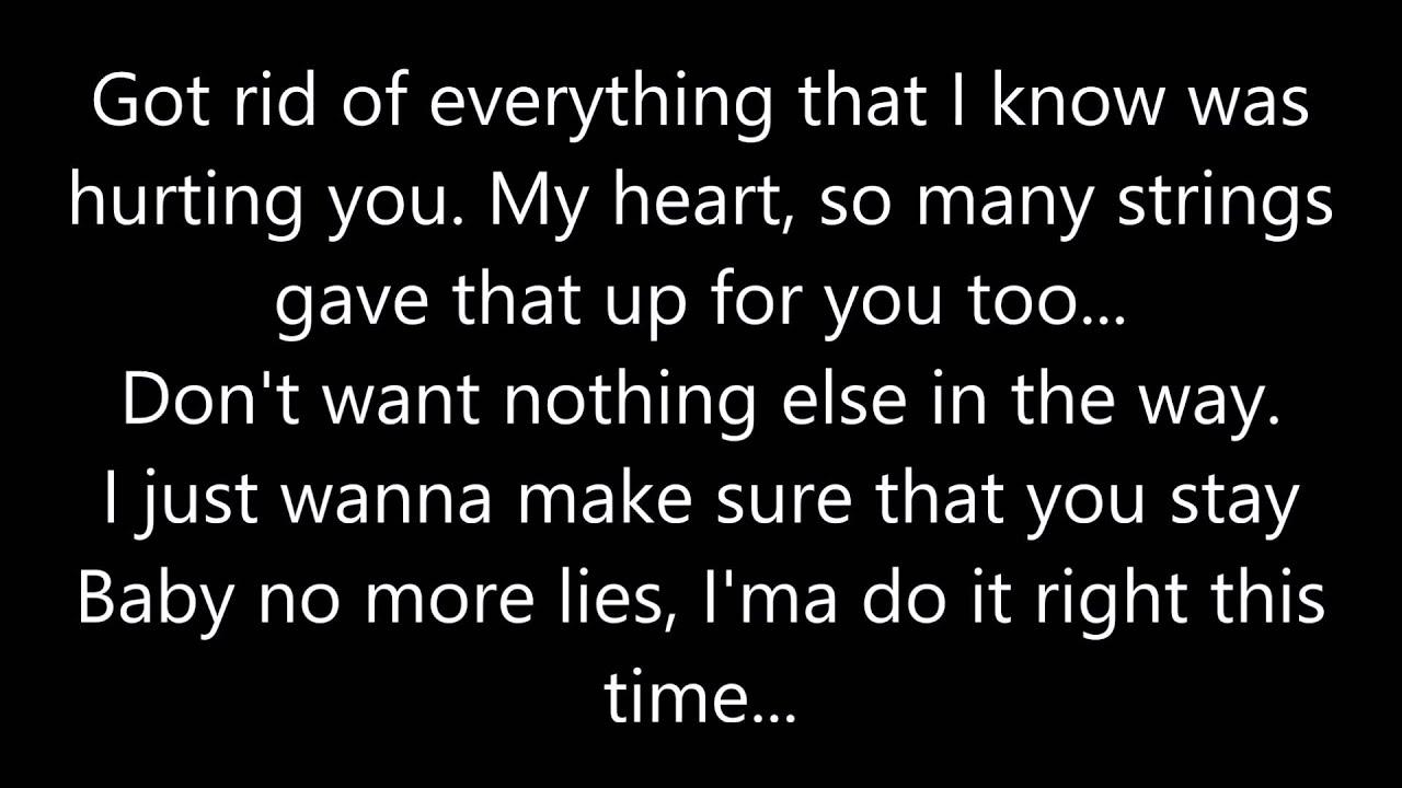 If i was ur man lyrics