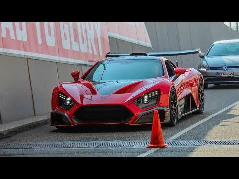 Supercars Arriving in Tunnel | SupercarSunday 2018 |Apollo IE ,  Centenario , Agera RS ML ...