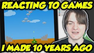 Playing The Games I Made When I Was 14 Years Old (They Suck)