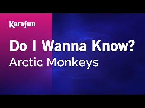 Karaoke Do I Wanna Know? - Arctic Monkeys *