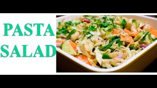 Pasta Salad Recipe - Veg Recipes India
