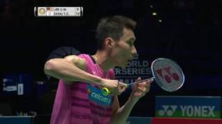 yonex all england open 2017   badminton sf m2 ms   lee chong wei vs chou tien chen