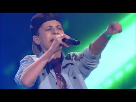 Cant Hold Us Lukas The Voice Kids 2016us Youtube