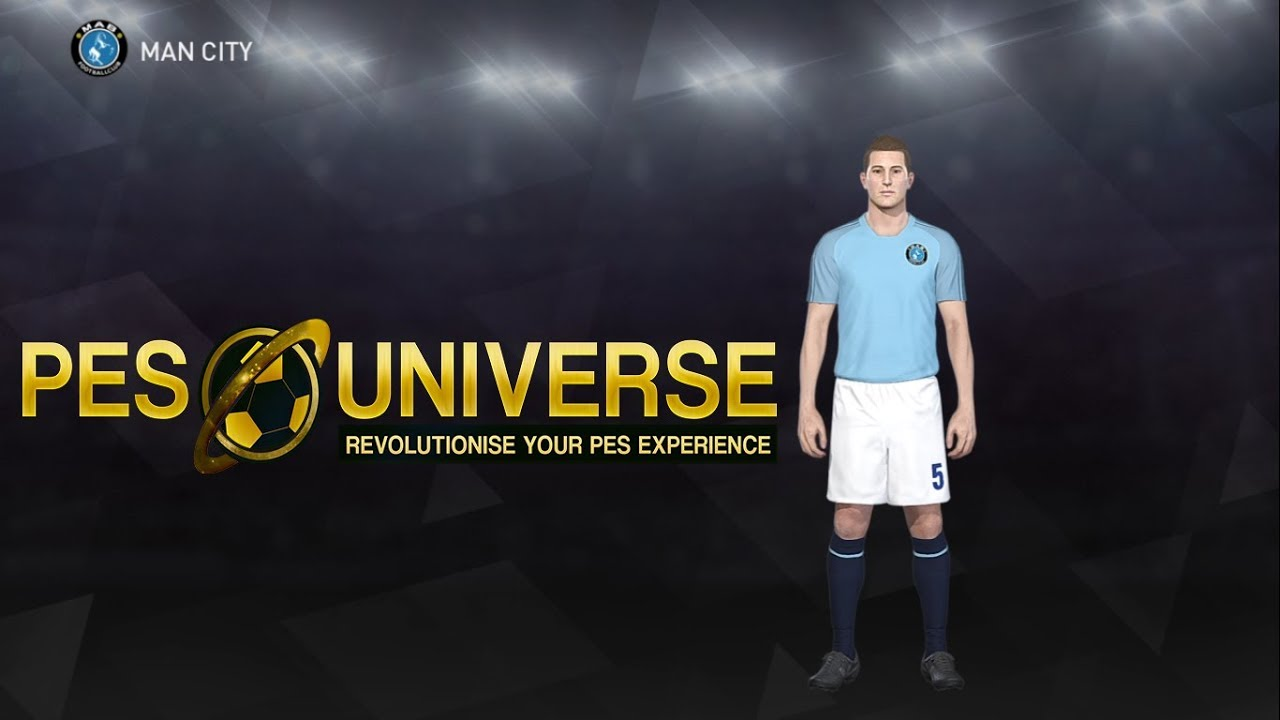 666d187375621f PES 2018 2019 Kit Editing XBOXONE/360 - MANCHESTER CITY Home Kit 18 ...