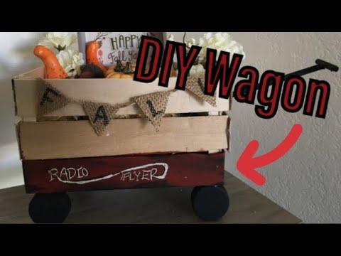 "DIY ""Radio Flyer"" Inspired Small Wagon"
