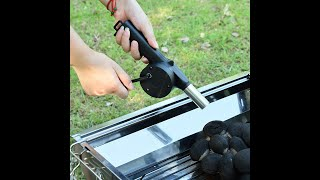 Portable BBQ blower: barbecue tools and accessory