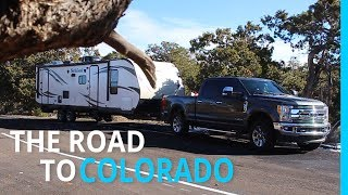 THE ROAD TO COLORADO (WINTER RV CAMPING) EP 88 Part 1