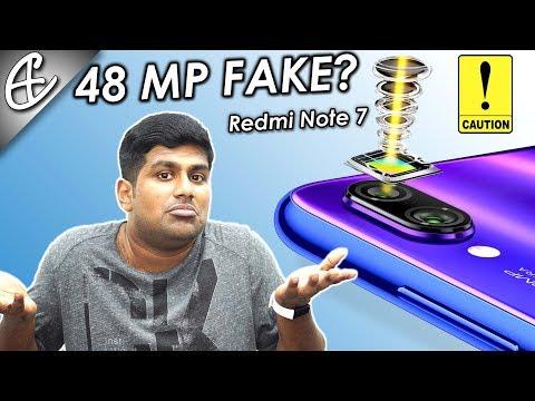 Redmi Note 7 has a Fake 48 MP Camera?