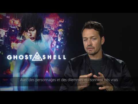 Interview Ghost In The Shell : Rupert Sanders Et Pilou Asbæk