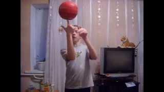 обучающие видео как крутить мяч на пальце