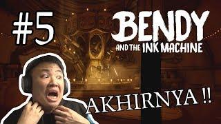 HANS KANGEN BORIS !!! - Bendy and the Ink Machine [Indonesia] Gameplay #5