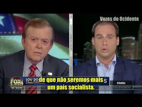 A FALA E O INGLÊS DE EDUARDO BOLSONARO EM ENTREVISTA PARA A FOX, NOS EUA