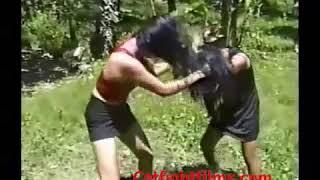 Women WRESTLING Catfight Films Real Originals Life Girls Fight