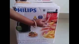 Philips Air Fryer Viva Collection HD9220 Unboxing in Hindi
