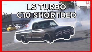 homepage tile video photo for You Want Some Clag on those DONUTS?! LS TURBO C10 gets Hoonie!