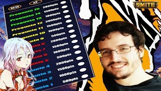 CUANTO SABE WARCHIWAR DE SMITE??? / TEST A YOUTUBERS
