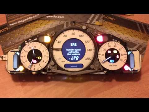 Mercedes CLK w209 E class w211 Speedometer repair - YouTube