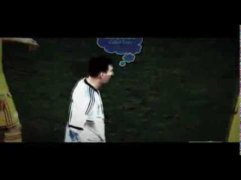 Funny moment between Alexander Bourceanu and Lionel Messi | Romania 0-0 Argentina | 05.03.2014