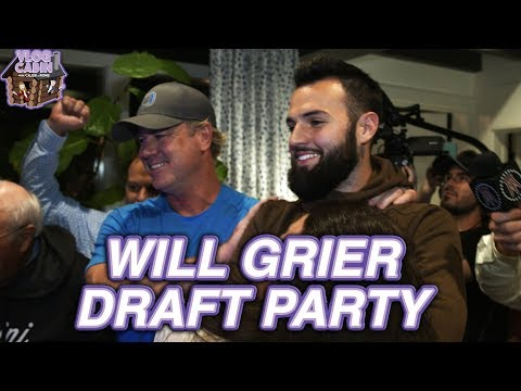 Grier Family Celebrates Panthers Drafting Will Grier