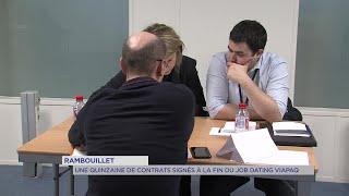 Yvelines | Rambouillet : Une quinzaine de contrats signés à la fin du job dating Viapaq