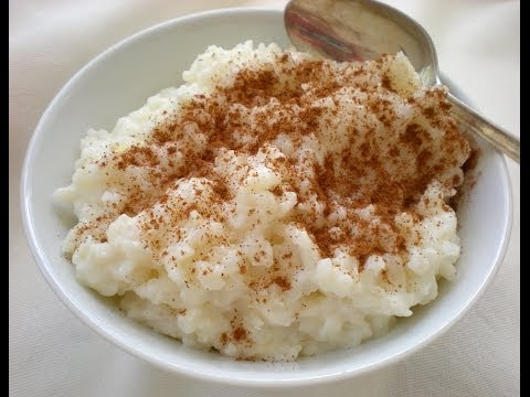 How To Make The Best Rice Pudding Ever!