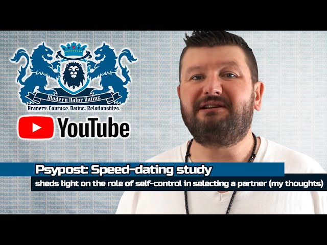 Psypost: Speed-dating study sheds light on the role of self-control in selecting a partner