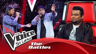 The Battles : Sivatharshan Sivarathan V Maleesha Sooriarachchi | Roja Jaaneman | The Voice Sri Lanka Thumbnail