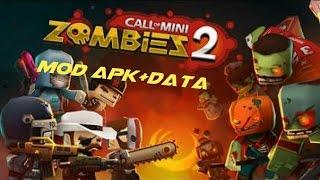 Call Of Mini Zombie 2 MOD APK+DATA (NO ROOT)