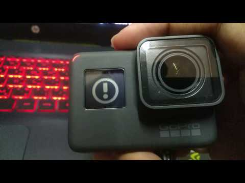 #GoPro5 GoPro5 red light flashing