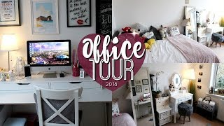 OFFICE & SPARE ROOM TOUR! 👩💻 | Brogan Tate