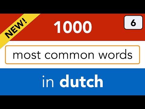 NT2 - Speak Dutch; online Dutch lessons by Bart de Pau - lesson 6