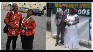 29-year-old Nigerian man from Delta marries 61-year-old lady from America