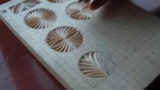 Геометрическая резьба по дереву. Урок 14