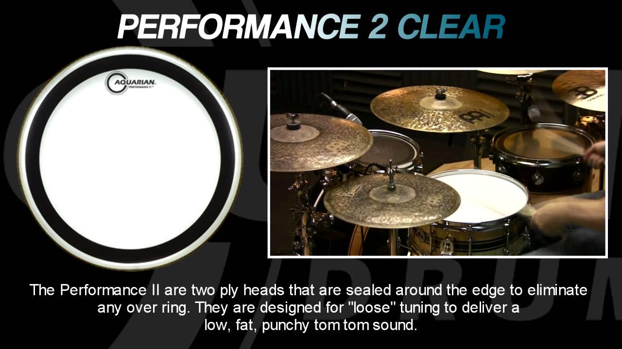 Performance II Drumhead 22 in