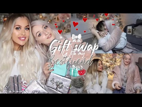 THE MOST AMAZING CHRISTMAS GIFT EXCHANGE EVER!!! BEST FRIEND EDITION! Gemma Louise Miles