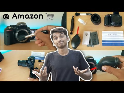 How to Clean your DSLR lens and Body | Malayalam DSLR Cleaning Kit Review